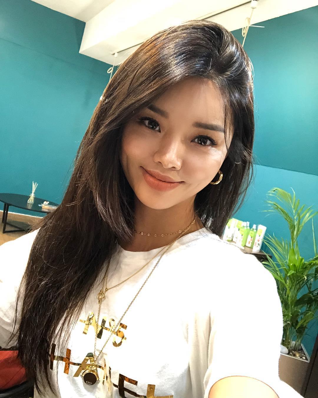 Hyemi beautiful South Korean model with perfect skin