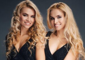 The most beautiful twin sisters
